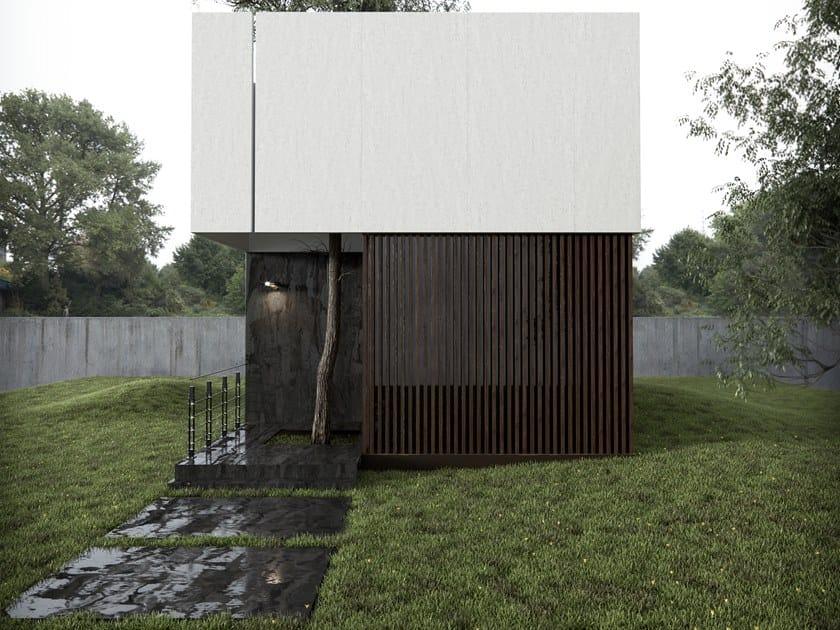 Panel for facade / outdoor floor tiles DEKTON® RADIUM by Cosentino