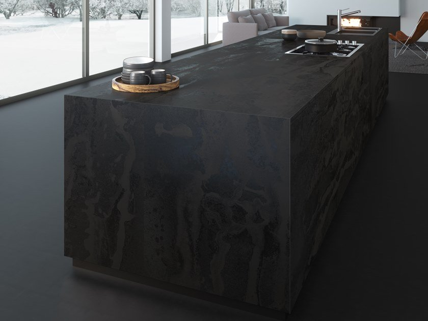 Furniture foil with metal effect DEKTON® RADIUM | Furniture foil by Cosentino