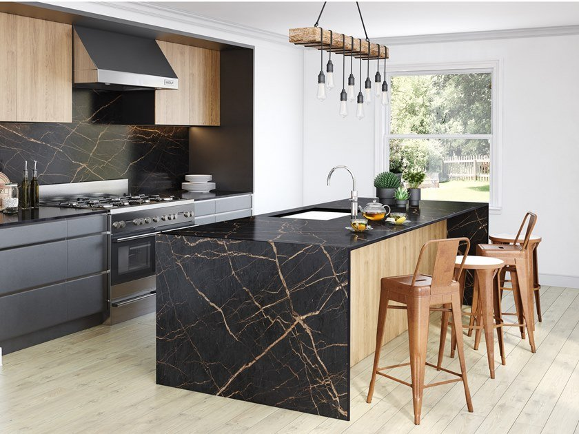 Dekton® wall tiles with stone effect DEKTON® LAURENT by Cosentino