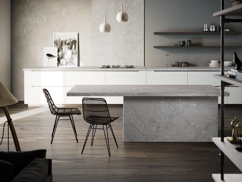 Furniture foil with concrete effect DEKTON® VERA by Cosentino