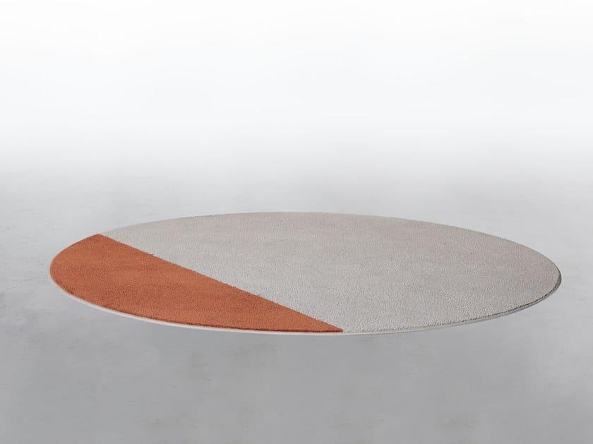 Round rug DEL REY by Tonin Casa