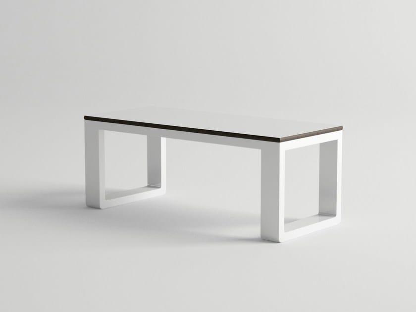 Rectangular aluminium garden side table DELAZ   Garden side table by 10Deka