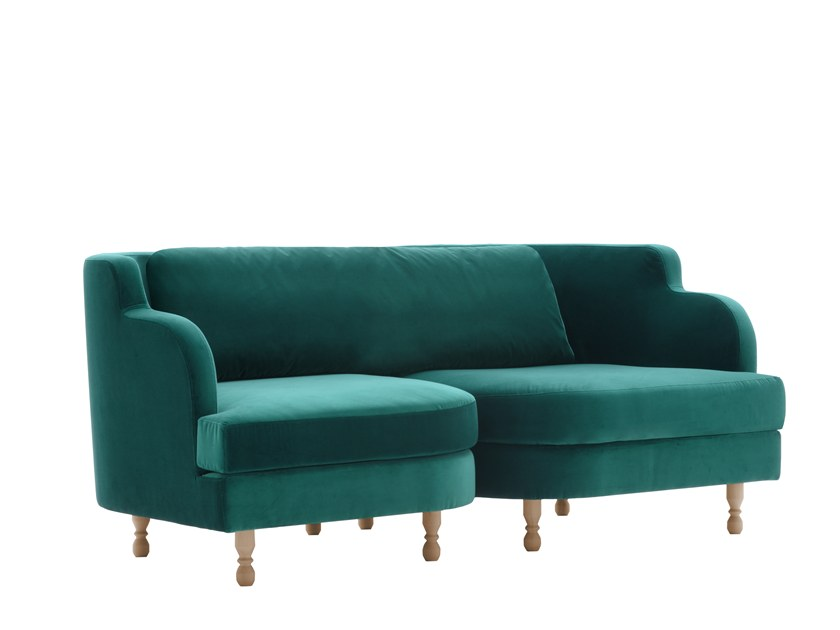 3 seater sofa DÉLICE 01041T by Montbel