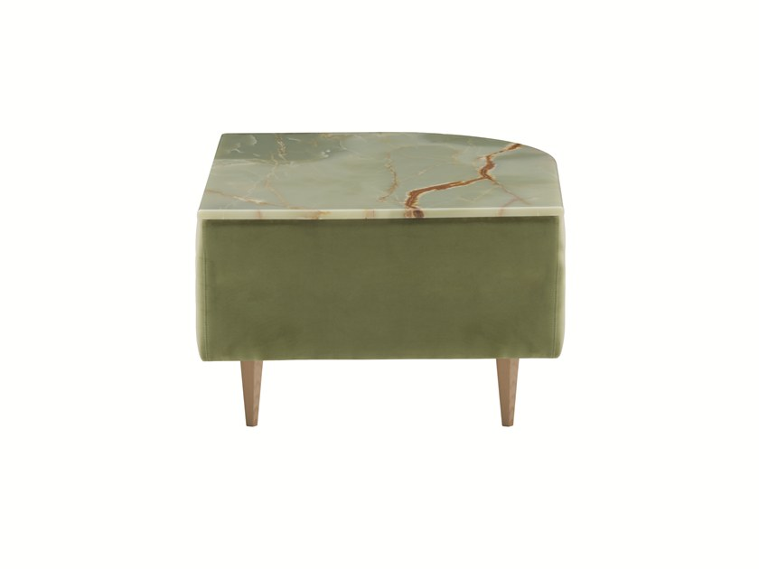 Low marble coffee table DÉLICE 01050M by Montbel