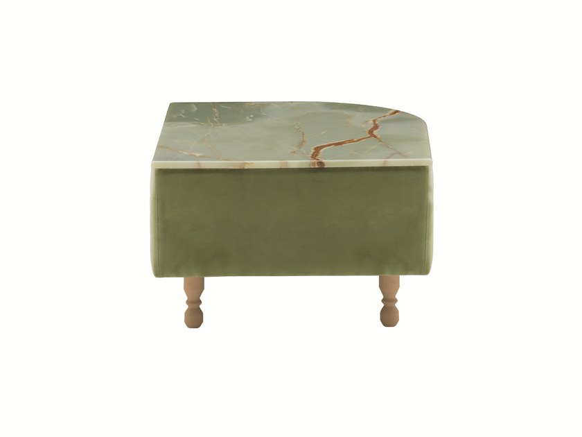 Low marble coffee table DÉLICE 01050MT by Montbel