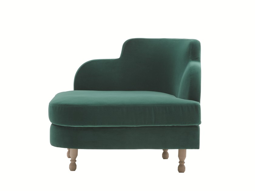 Corner armchair DÉLICE 01051T by Montbel