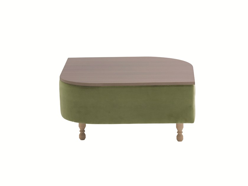 Square ABS coffee table DÉLICE 01053LT by Montbel