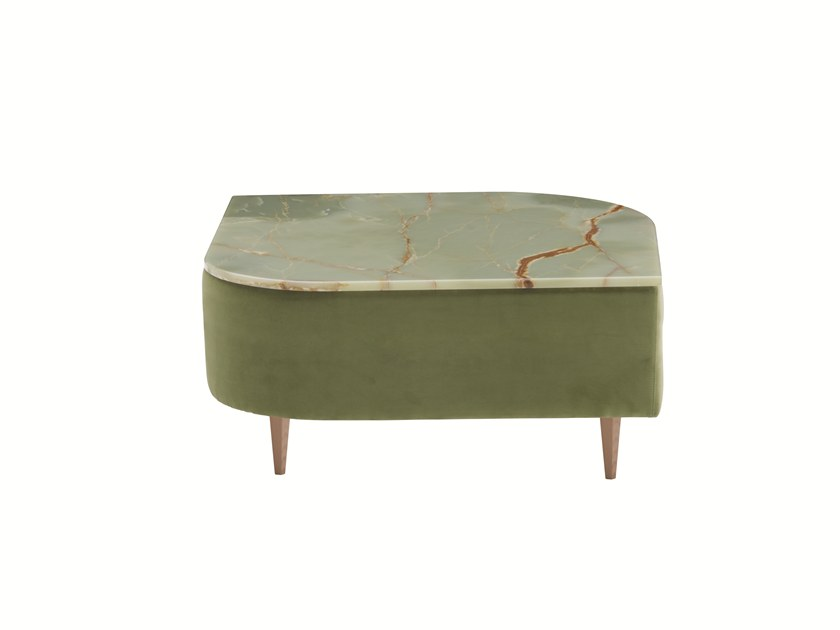 Square marble coffee table DÉLICE 01053M by Montbel