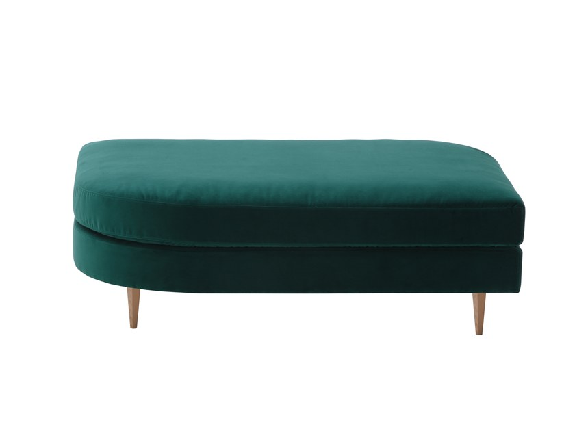 Rectangular pouf DÉLICE 01055DX by Montbel