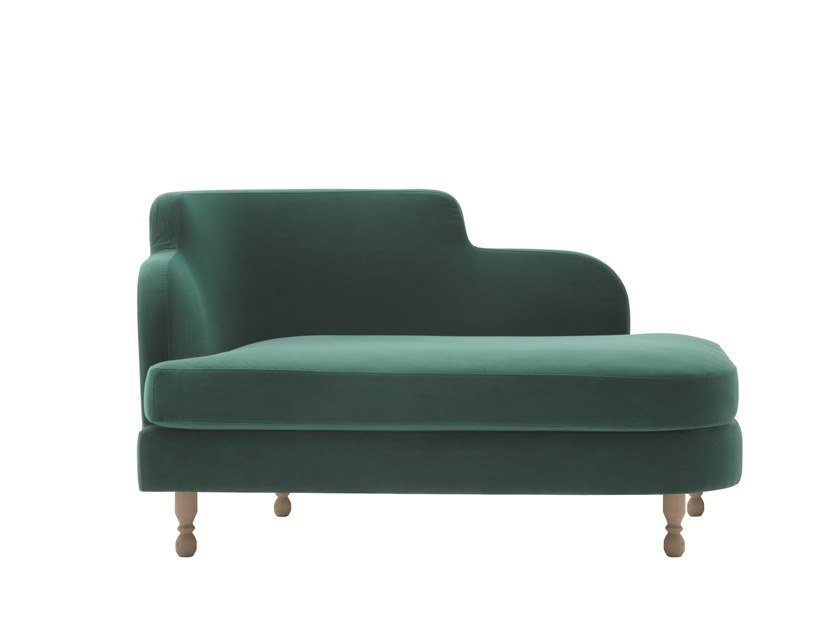 Upholstered day bed DÉLICE 01057T by Montbel