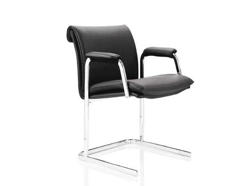 Delphi sedia con braccioli collezione delphi by boss design