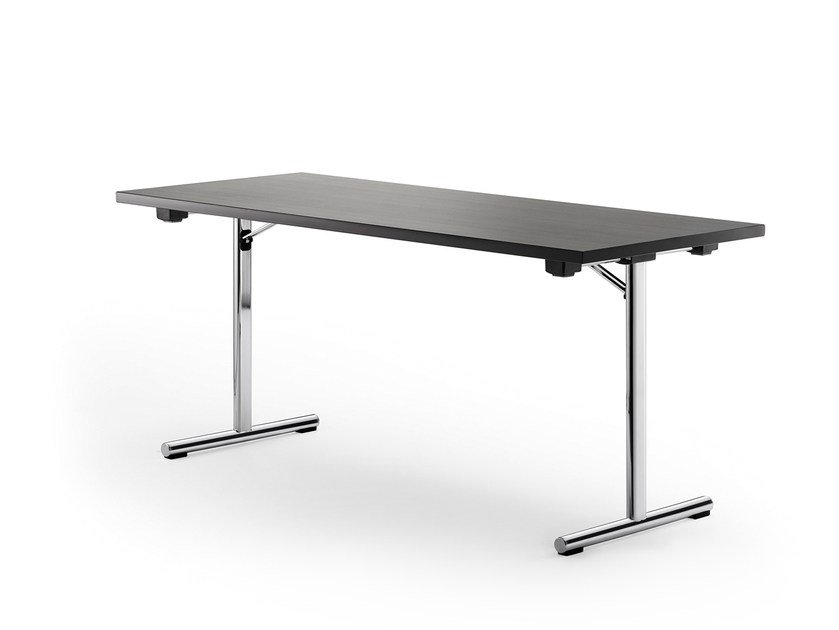 Folding rectangular table DELTA 110 by rosconi