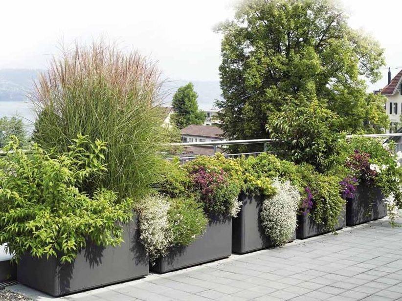 Delta 60 jardinera colecci n softline by swisspearl italia - Jardineras de cemento ...