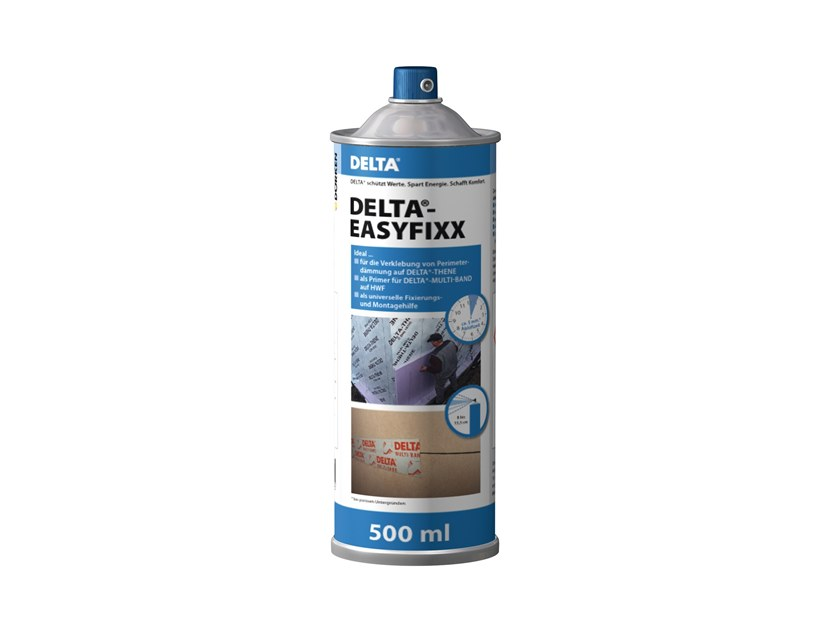 Additive and resin for waterproofing DELTA®-EASY FIXX by DÖRKEN ITALIA