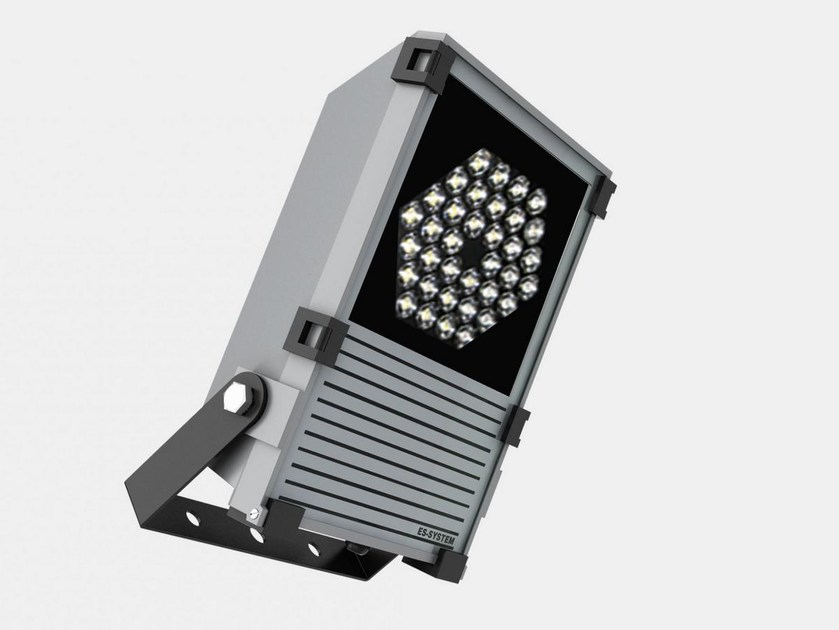 LED adjustable die cast aluminium Outdoor floodlight DELTA by ES-SYSTEM