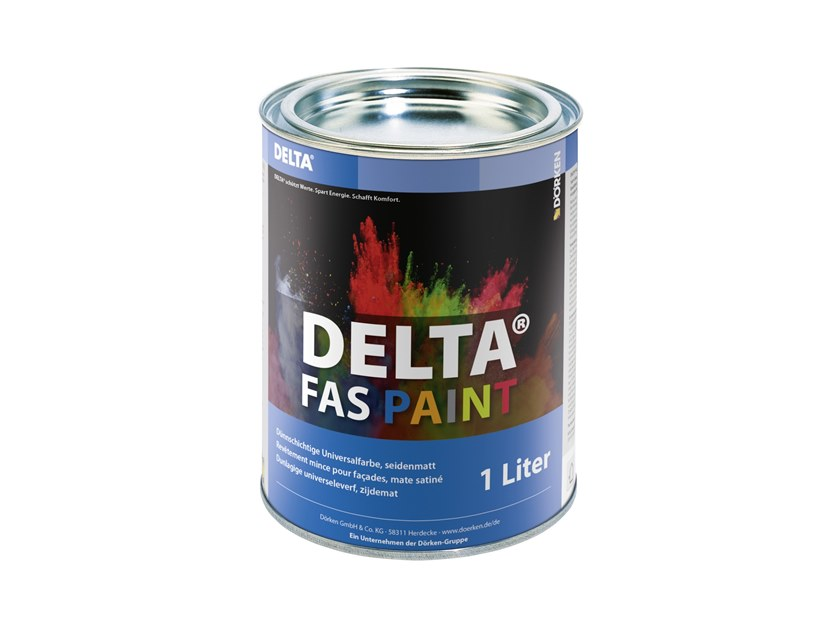 Additive and resin for waterproofing DELTA®-FAS PAINT by DÖRKEN ITALIA