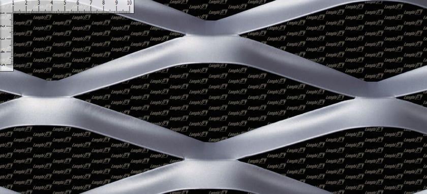 Rete metallica stirata per rivestimento di facciata DELTA by FILS