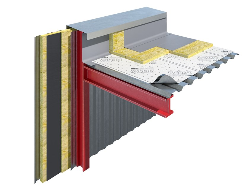 Vapour barrier for roof DELTA ®-NEOVAP 1500 by DÖRKEN ITALIA