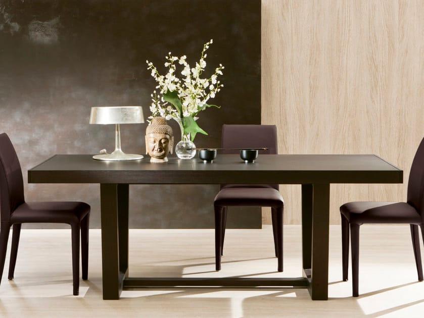 Extending rectangular table DELTA by Pacini & Cappellini
