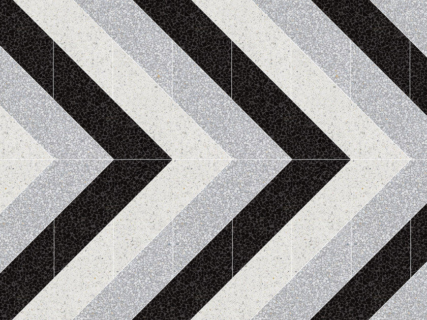 Marble grit wall/floor tiles DELTA V by Mipa
