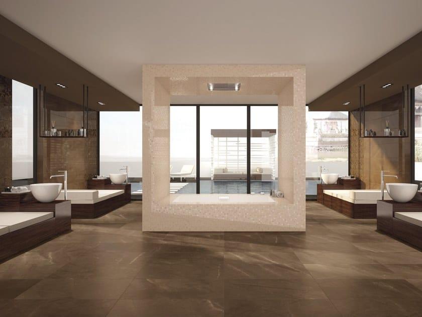 Wall/floor tiles with marble effect DELUXE BRONZE by Marca Corona