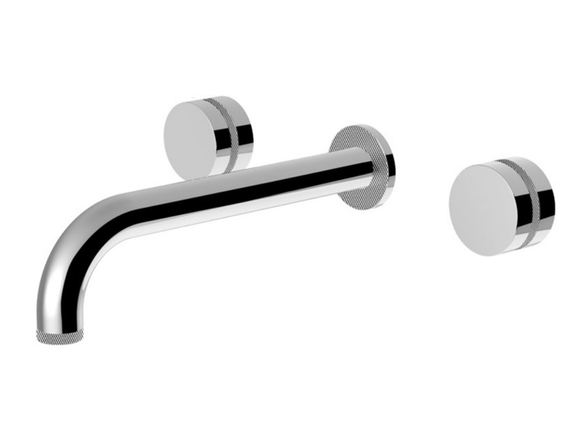 3 hole wall-mounted washbasin mixer DELUXE - MYRING - FMR0123DL by Rubinetteria Giulini