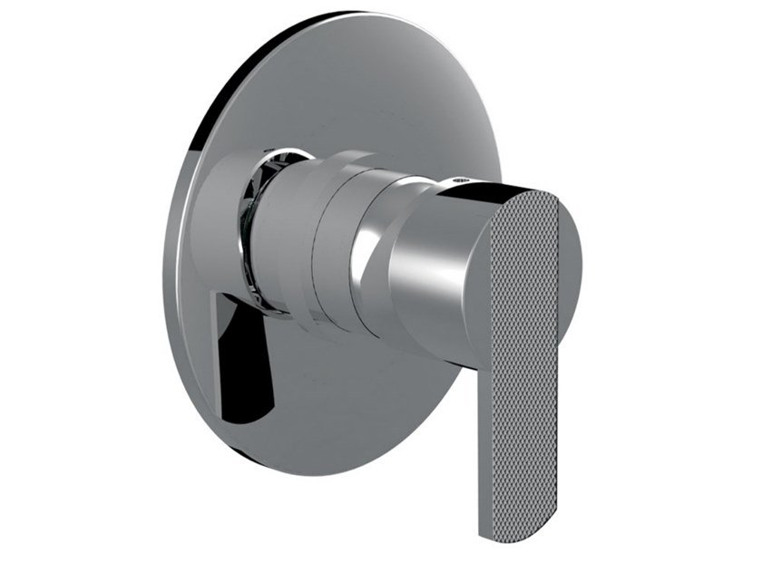 Recessed single handle shower tap DELUXE - SURF - F5815DL by Rubinetteria Giulini