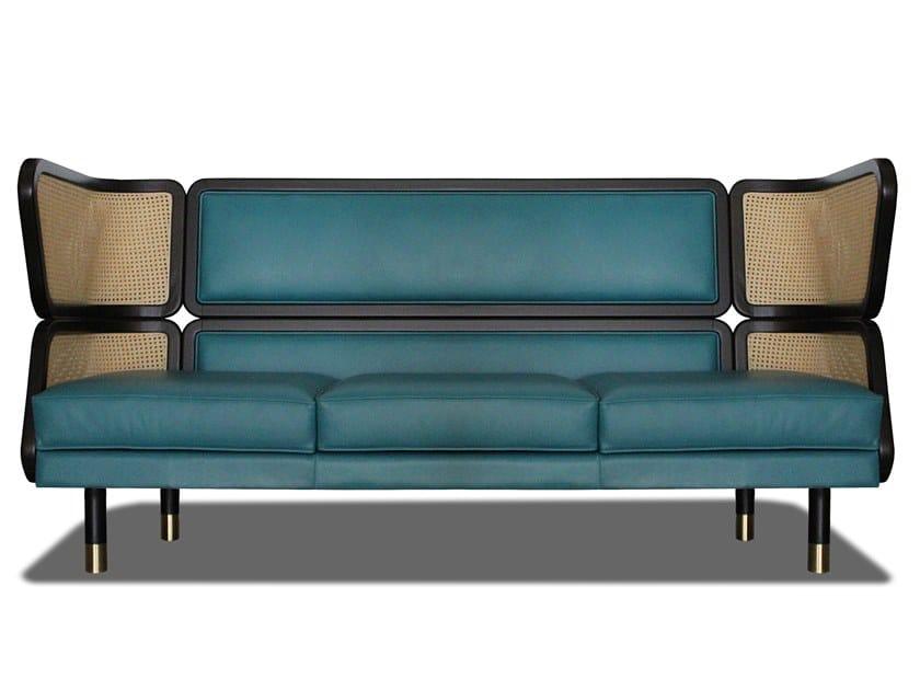 Leather sofa DEN by HEBANON