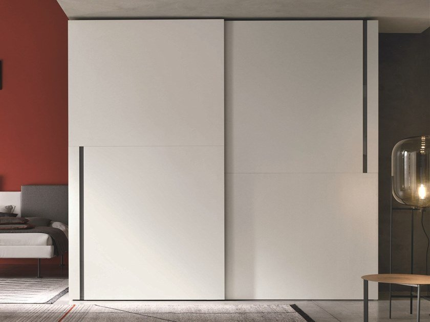 Lacquered wardrobe with sliding doors DENVER | Wardrobe with sliding doors by Gruppo Tomasella