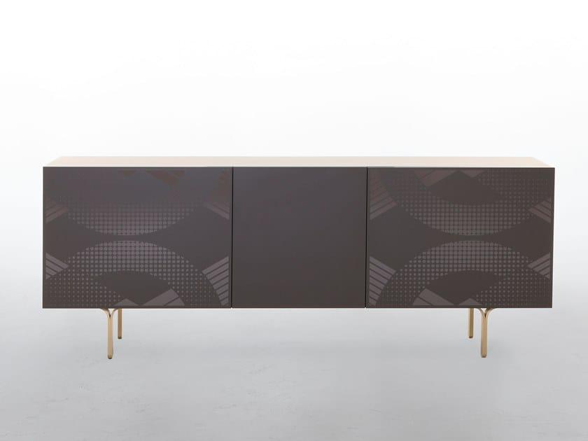 Wooden sideboard DEPOP by Tonin Casa