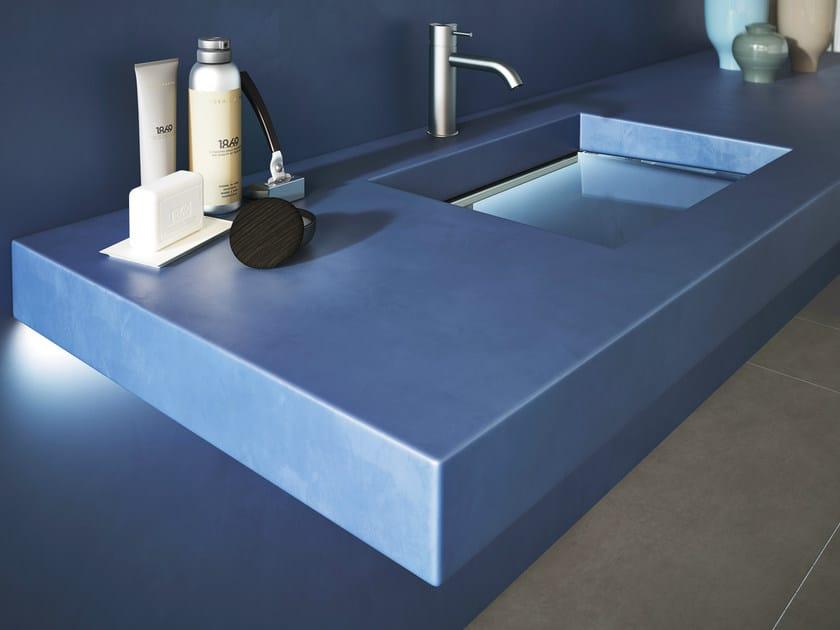 Undermount single resin washbasin DEPTH RESIN by Lago