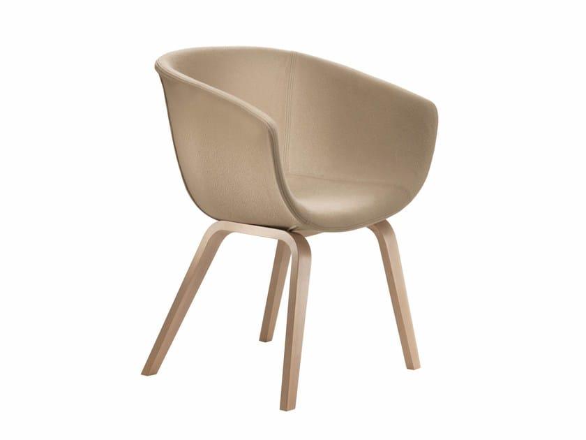 Upholstered restaurant chair DERBY I0038 by Segis