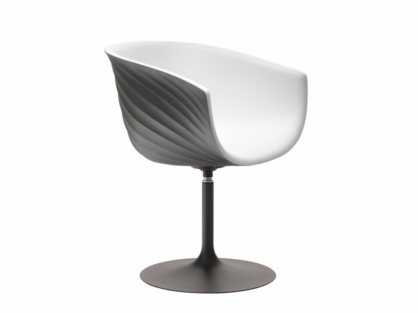 Polyurethane reception chair DERBY S0092 by Segis