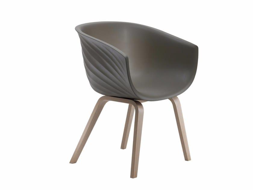 Polyurethane restaurant chair DERBY   Chair by Segis