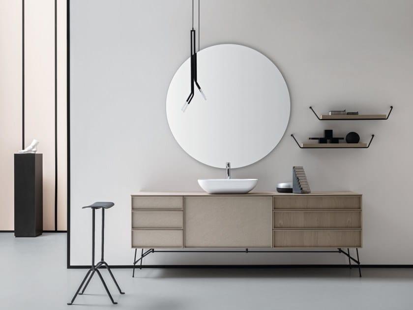 Contemporary style vanity unit DES 38 by Cerasa
