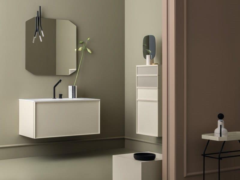 Wall-mounted vanity unit DES 4 by Cerasa