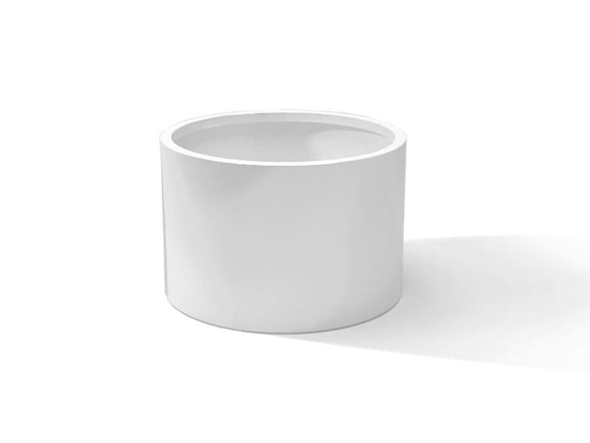 Metal planter DESIGN RONDO by Laubo
