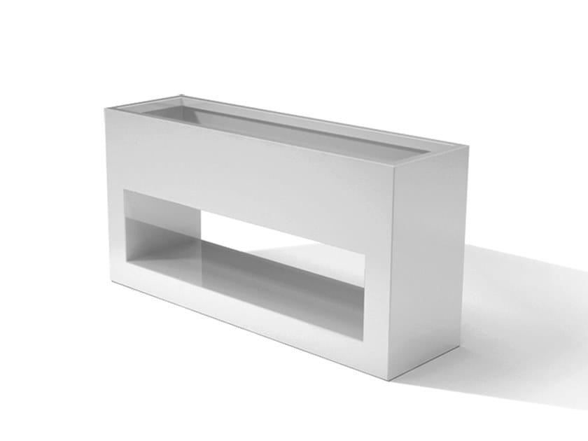 Metal planter DESIGN VIEW by Laubo