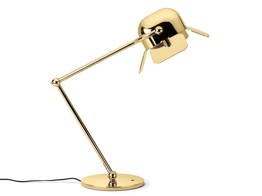 Adjustable aluminium desk lamp FLAMINGO | Desk lamp by GHIDINI1961