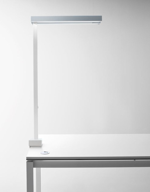 Aluminium desk lamp STICK | Desk lamp by Quadrifoglio