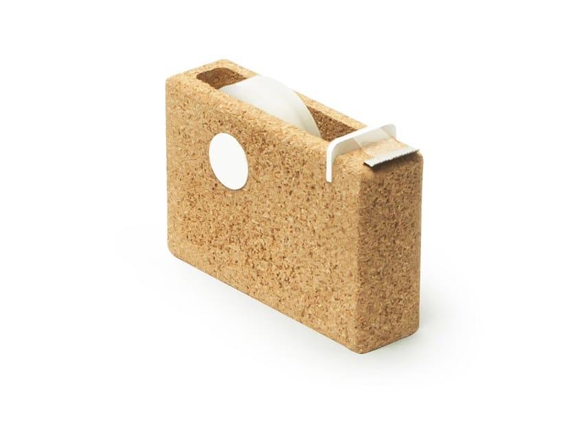 Cork tape dispenser NIU | Tape dispenser by UBIKUBI