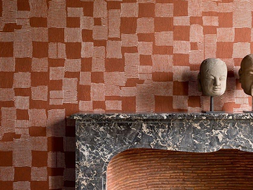 Check wallpaper DESSINS DANS LE SABLE by Élitis
