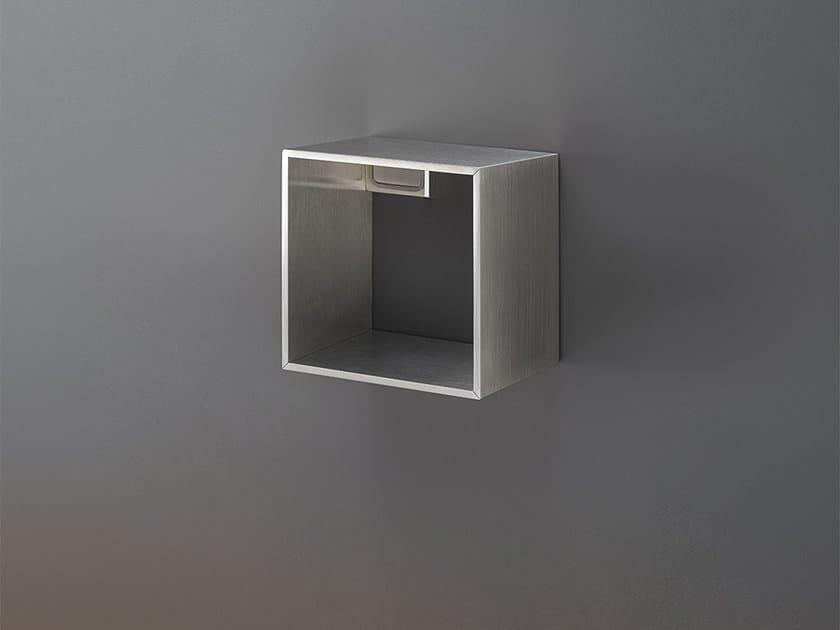 Wandregal für Badezimmer aus Edelstahl DET 91 Kollektion DUET ...