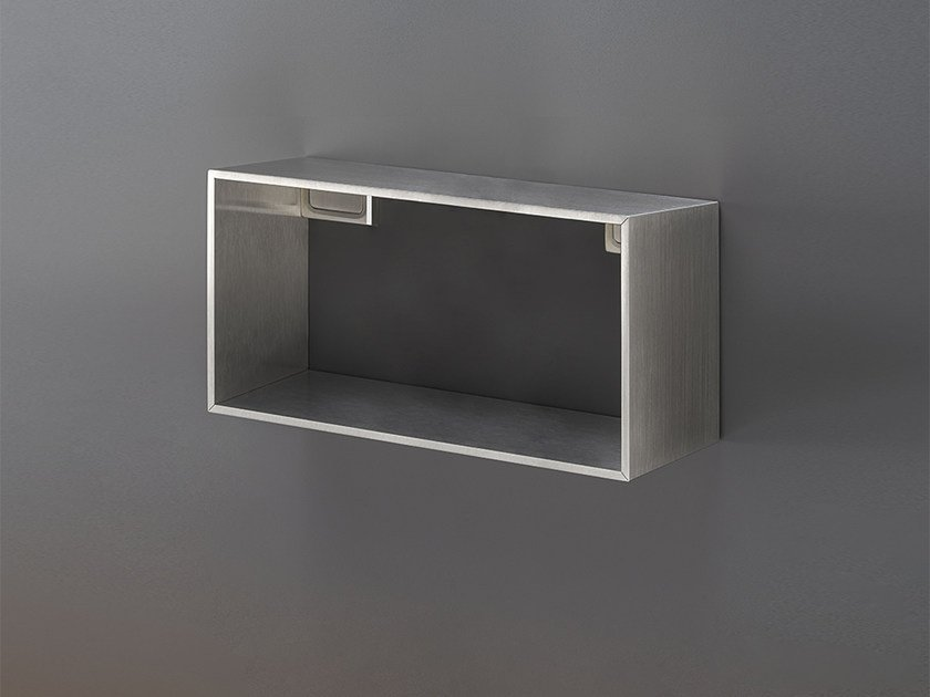 Wandregal für Badezimmer aus Edelstahl DET 92 Kollektion ...