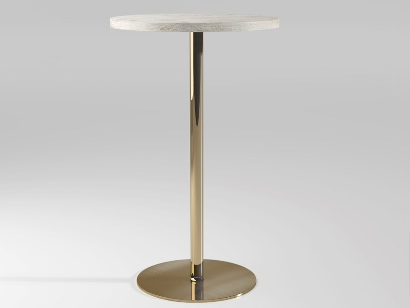 Round marble high table DETROIT | High table by Emotional Projects
