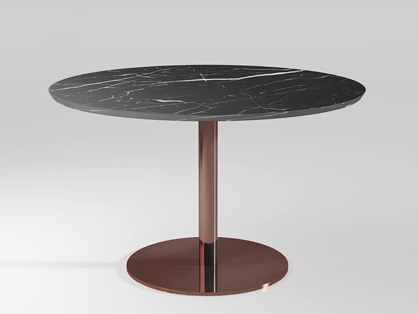 Round marble dining table DETROIT | Marble table by Emotional Projects