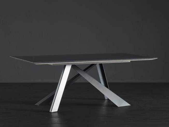 Rectangular iron dining table DETROIT + METAL by AltaCorte