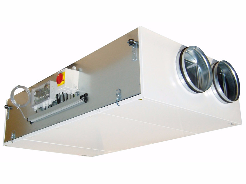 Industrial Mechanical forced ventilation system DFE COMPACT MICRO-WATT by ALDES