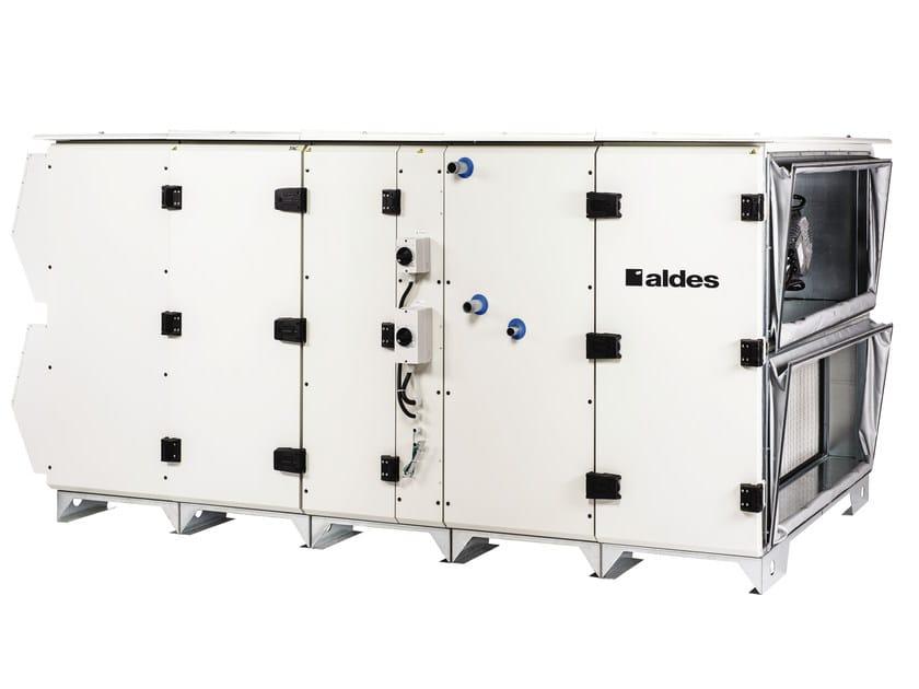 Centrale di ventilazione HRV con scambiatore rotativo DFE RH by ALDES