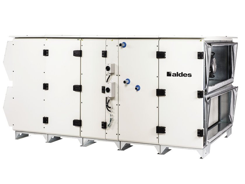Industrial Mechanical forced ventilation system DFE RH by ALDES